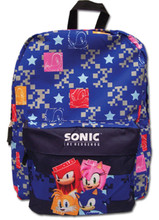 Backpack - Sonic the Hedgehog - Large 16 Inch - Group