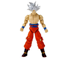 Action Figure Toy - Dragon Ball Stars - Ultra Instinct Goku - Wave 7 - 7 Inch