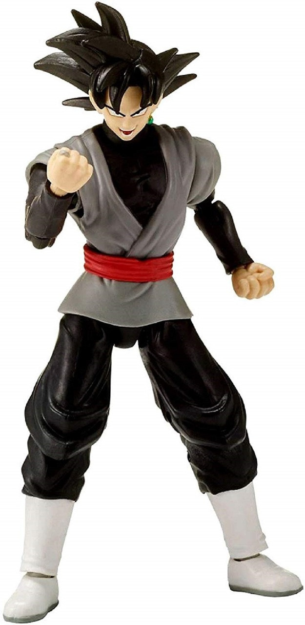 Action Figure Toy - Dragon Ball Stars - Goku Black - Wave 8 - 7 Inch