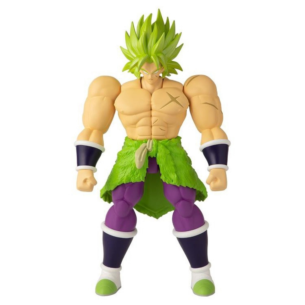 Action Figure Toy - Dragon Ball Stars - Super Saiyan Broly - Wave 12 - 7 Inch - 1