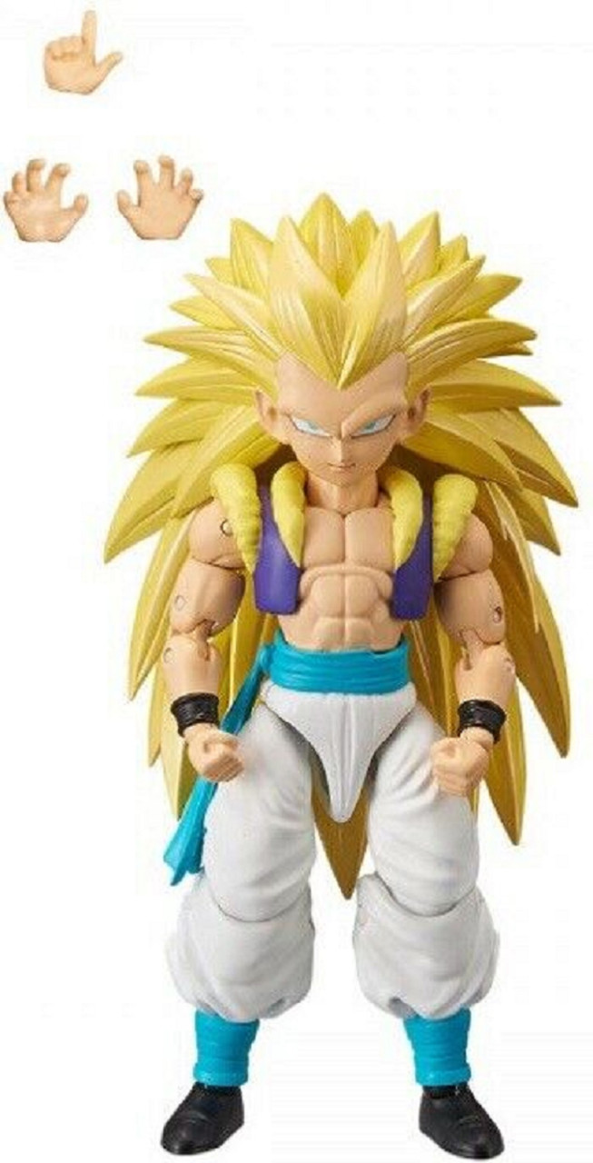 Action Figure Toy - Dragon Ball Stars - Super Saiyan 3 Gotenks - Wave 12 - 7 Inch