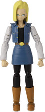 Action Figure Toy - Dragon Ball Stars - Android 18 - Wave 12 - 7 Inch