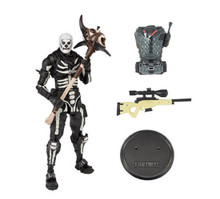 Action Figure Toy - Fortnite - Skull Trooper - Series 1 - 7 Inch