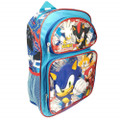 Backpack - Sonic the Hedgehog - Small 12 Inch - Group - 2019-side