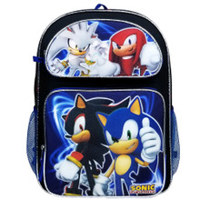 Backpack - Sonic the Hedgehog - Large 16 Inch - Group - 2018  - front