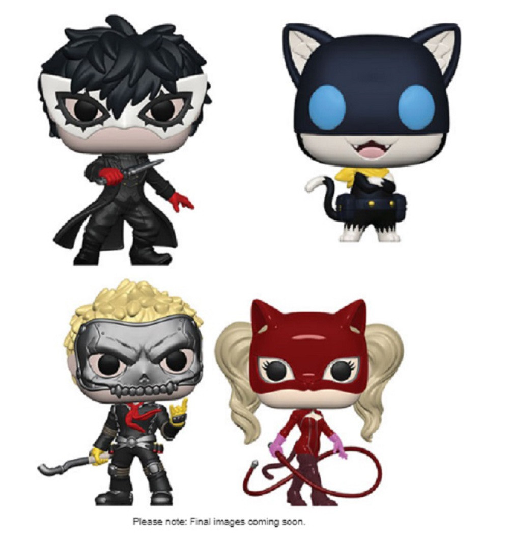 POPS Panther Juegos: persona 5 FUNKO: Pop
