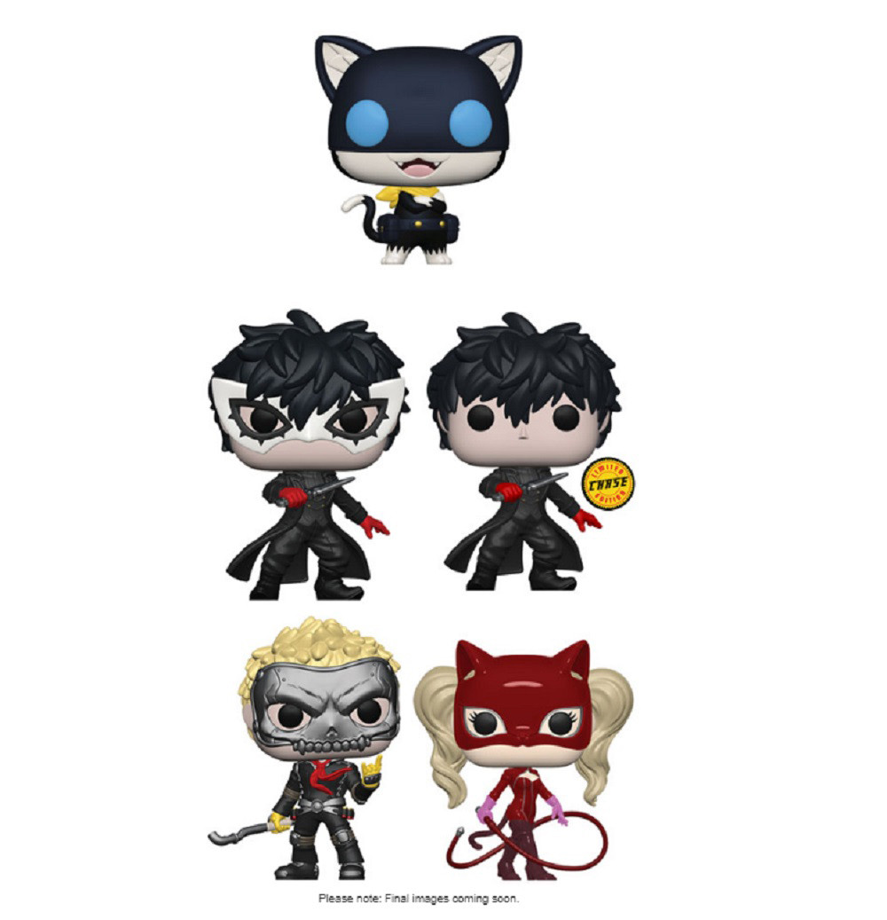 Persona 5 Funko POP Chase Bundle - Games - 5 Pack