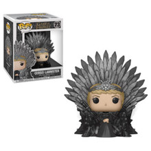 Cersei Lannister Sitting on the Iron Throne Funko POP Deluxe - Game of Thrones S10