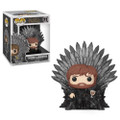 Tyrion Sitting on the Iron Throne Funko POP Deluxe - Game of Thrones S10