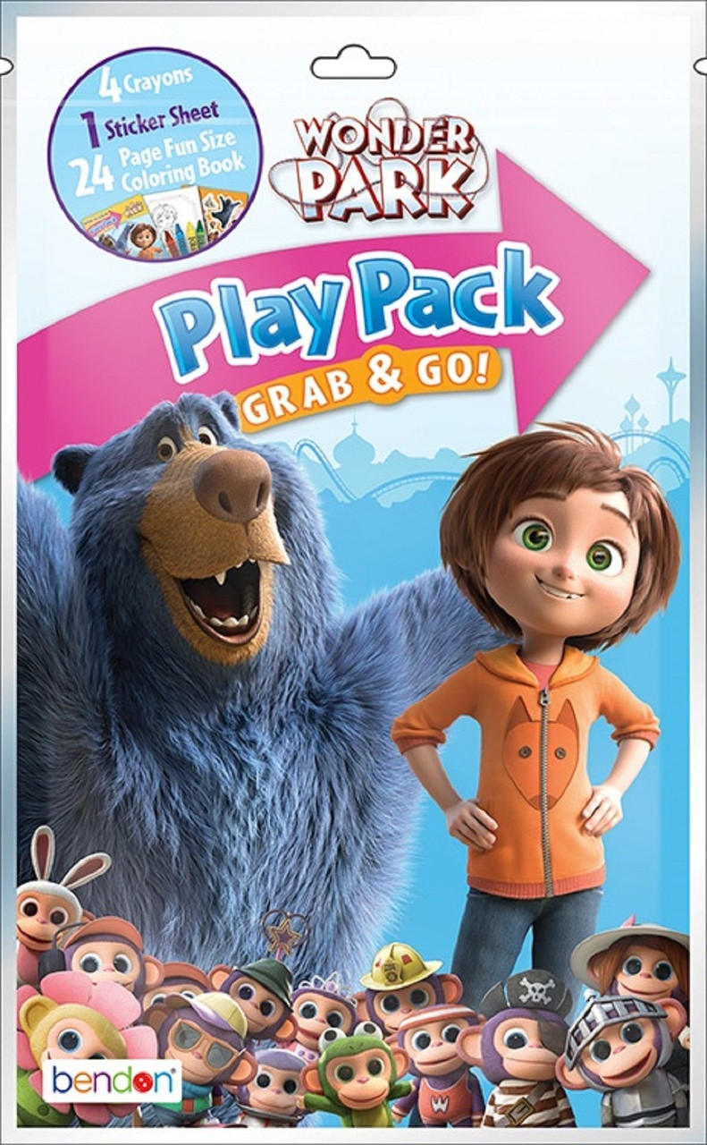 Play Pack - Wonder Park - Grab and Go Party Favors - 1ct
