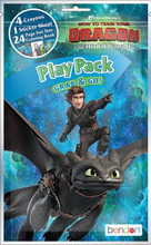 Play Pack - How to Train your Dragon - Grab and Go Party Favors - 1ct