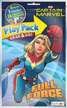 Play Pack - Captain Marvel - Grab and Go Party Favors - 1ct