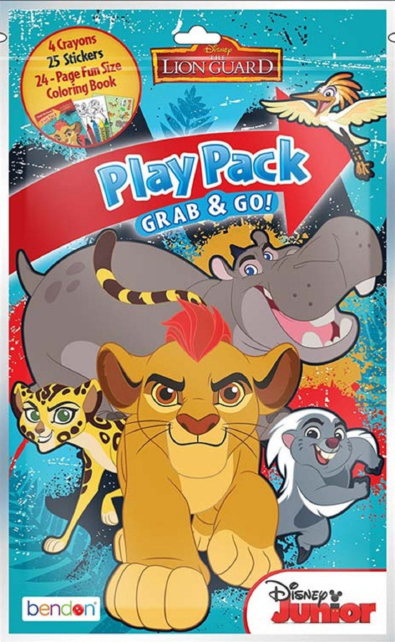 Play Pack - Lion Guard - Grab and Go Party Favors - 1ct