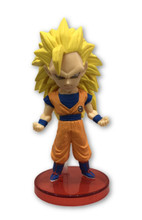 Dragon Ball Super - Super Saiyan 3 Goku Figure - 2.8 Inch - WCF Series 5