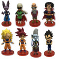 Dragon Ball Super - Bundle of 9 Figures - 2.8 Inch - WCF Series 5