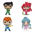 Yu Yu Hakusho Funko POP - Bundle of 4 - Animation