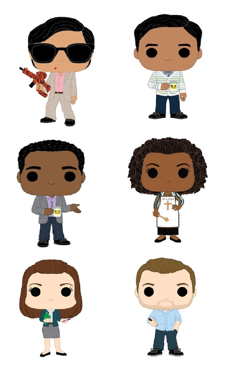 Community Funko POP - Bundle of 6 - TV
