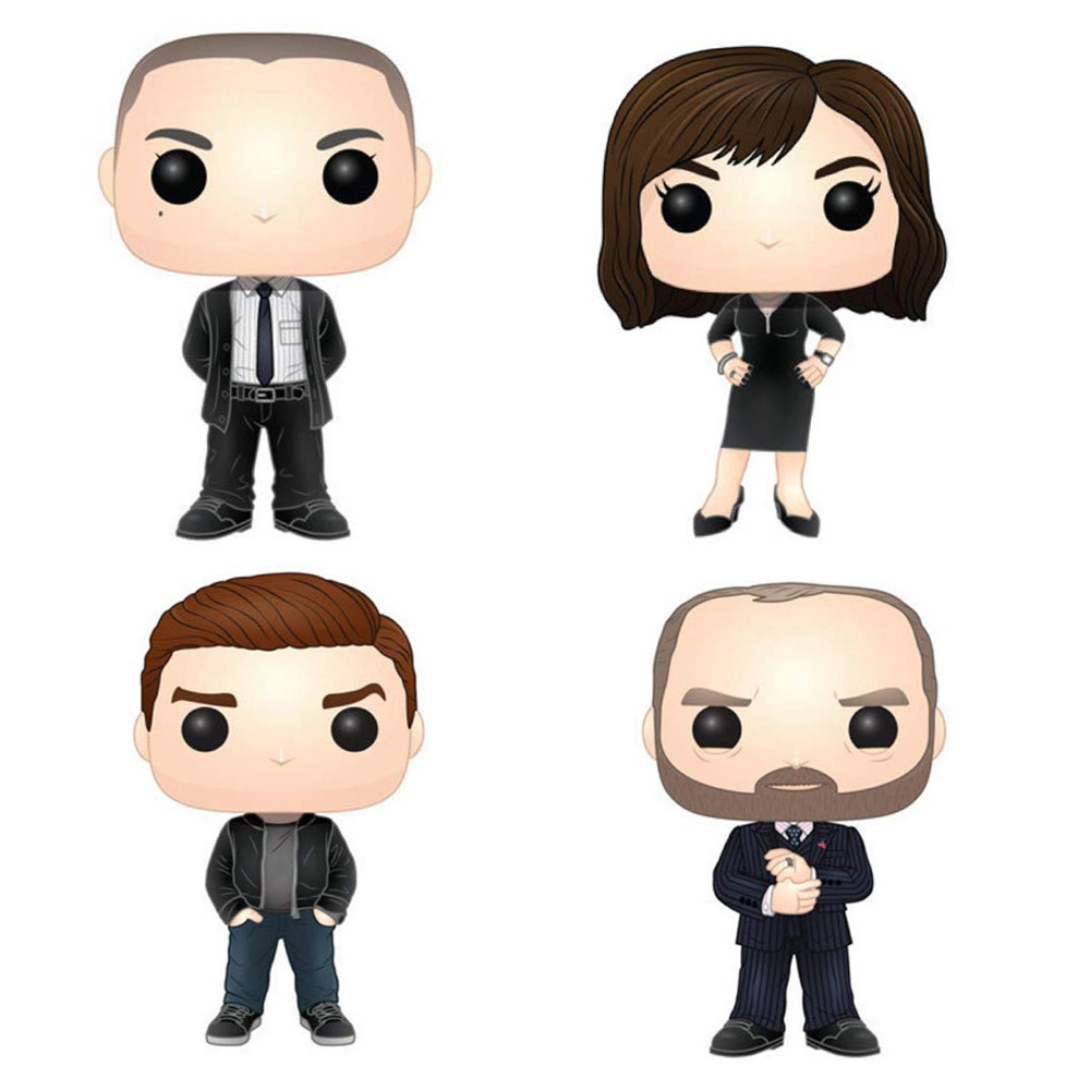 Billions Funko POP - Bundle of 4 - TV