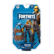 Action Figures - Fortnite - Raptor - 4 Inch - Solo- Front
