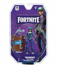 Action Figures - Fortnite - Teknique - 4 Inch - Solo- front