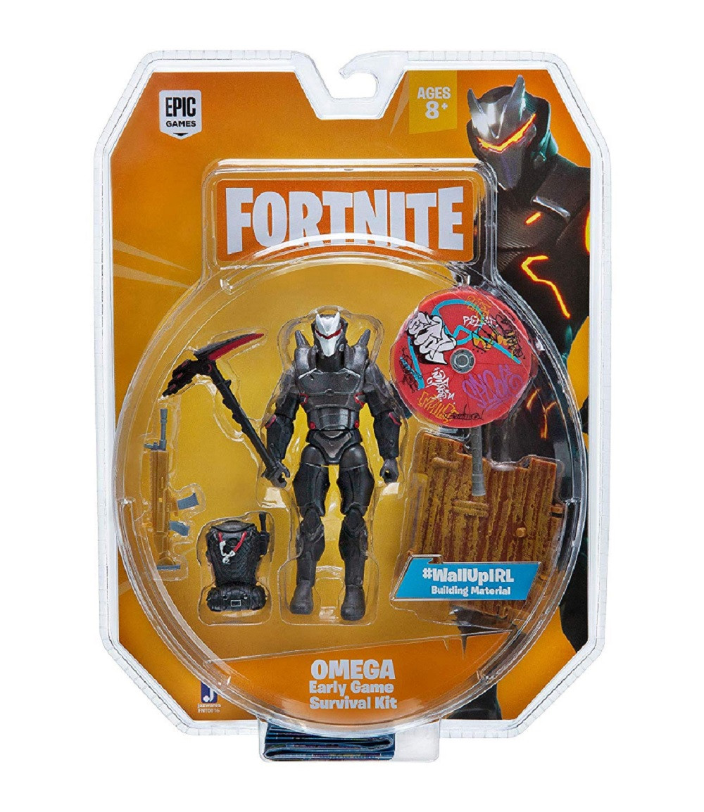 Action Figure - Fortnite - Omega - 4 Inch - Survival Kit- front