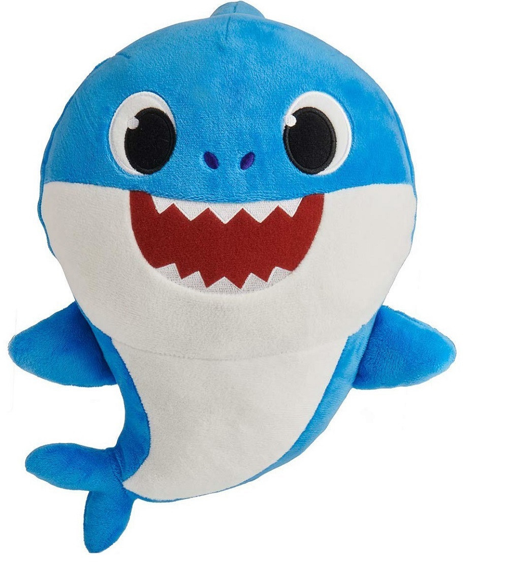 Baby Shark Pinkfong - Sound Doll - Blue - 10 Inch
