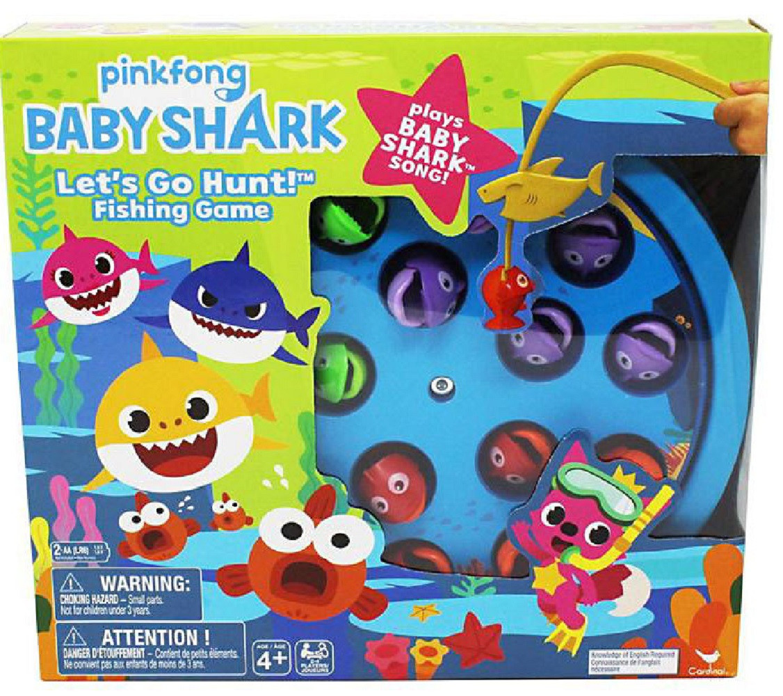 Pinkfong Baby Shark Fishing Game - Plays the Song