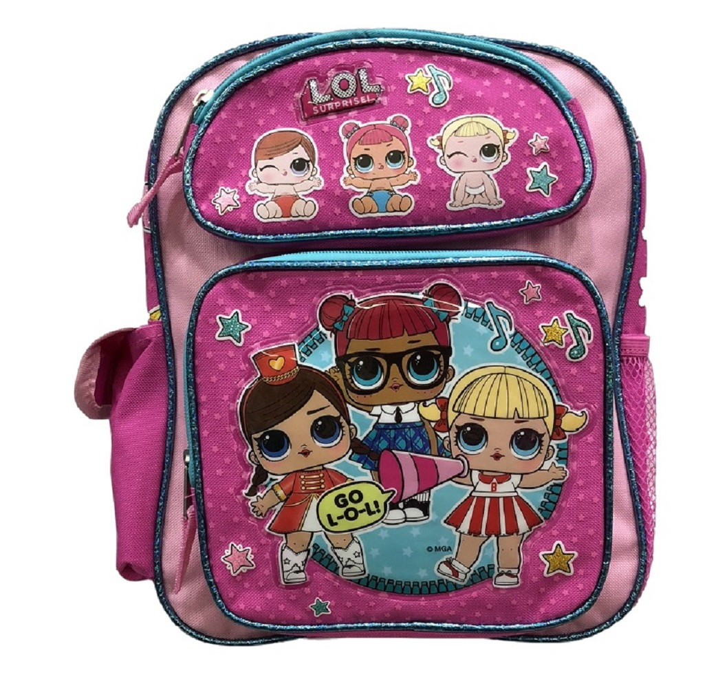 Backpack - LOL Surprise - Small 12 Inch - Cheerleading