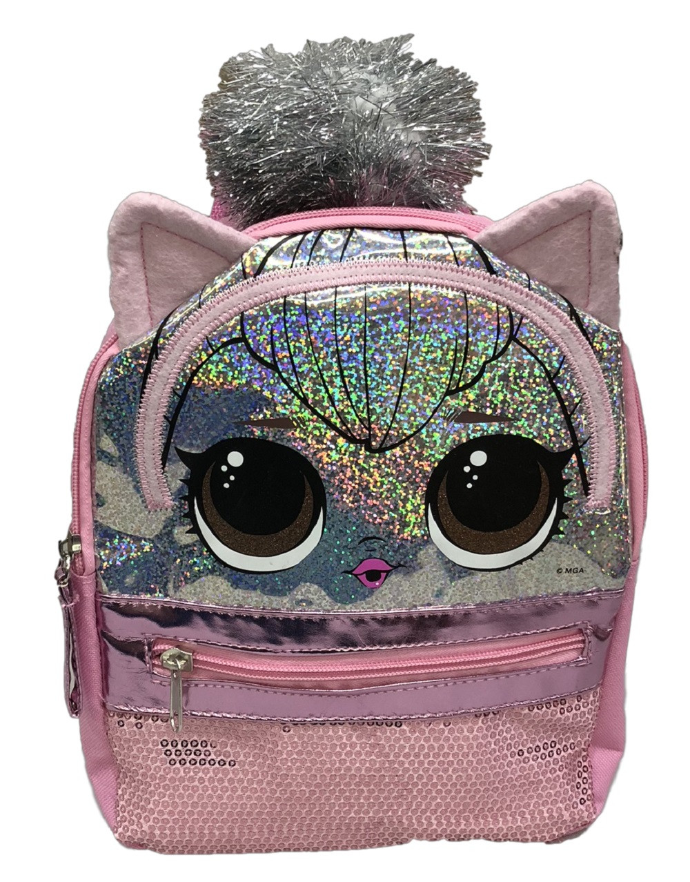 LOL Surprise Backpack - Mini 10 Inch - Kitty Queen