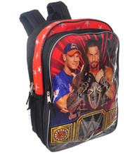 WWE John Cena Backpack - Large 16 Inch - Belt