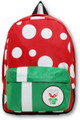 Backpack - Mario Brothers - Pirahna Plant - Large 16 Inch- Front
