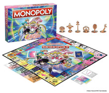 Board Games - Sailor Moon Monopoly - Opened
