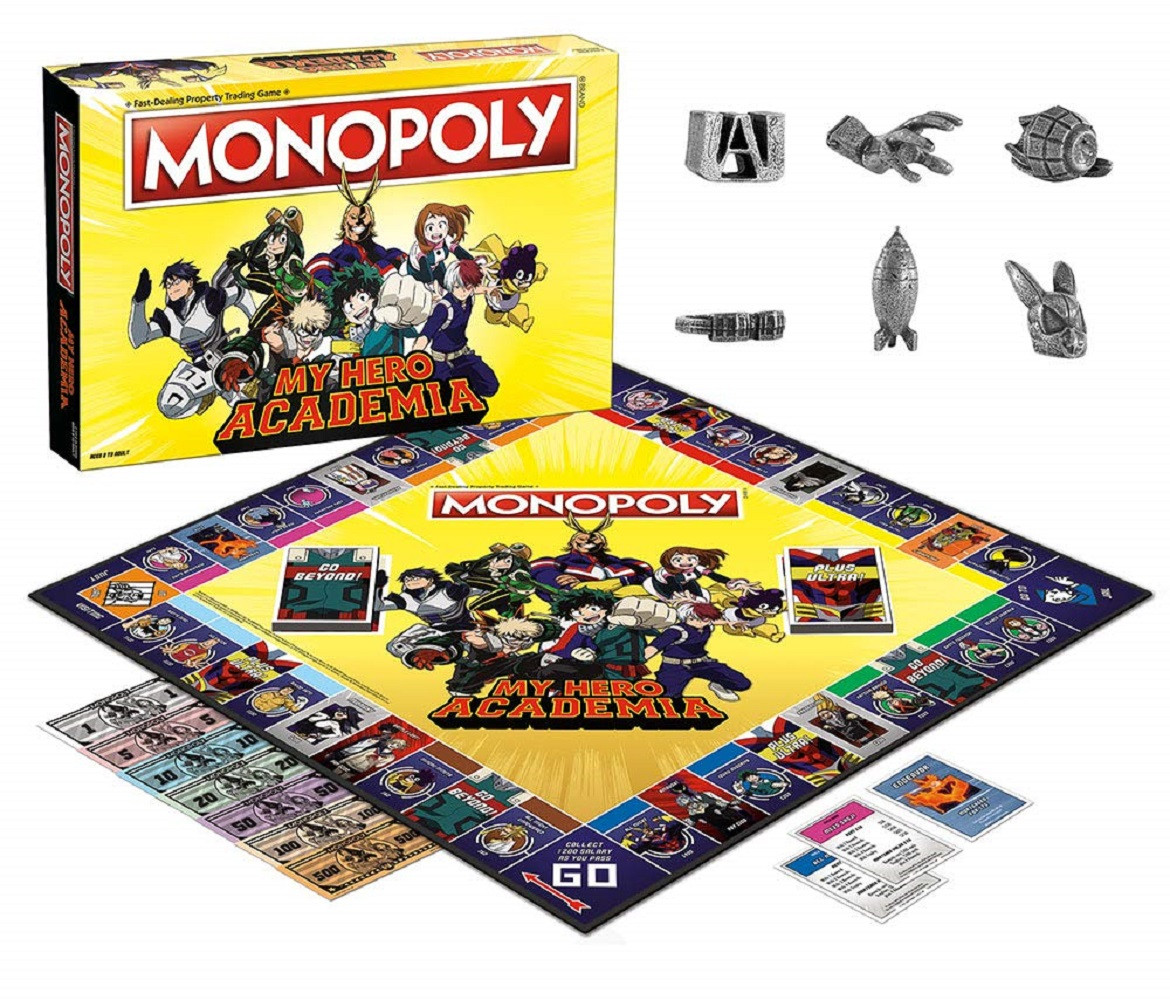 Board Games - My Hero Academia Monopoly