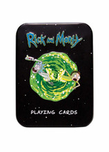 Board Games - Rick and Morty Playing Cards