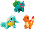 Figures - Pokemon - Bulbasaur Charmander Squirtle - 3 Pack