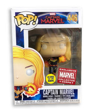 Captain Marvel Funko POP - MCC Exclusive - Flying