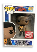 Nick Fury Funko POP - w Goose - MCC Exclusive