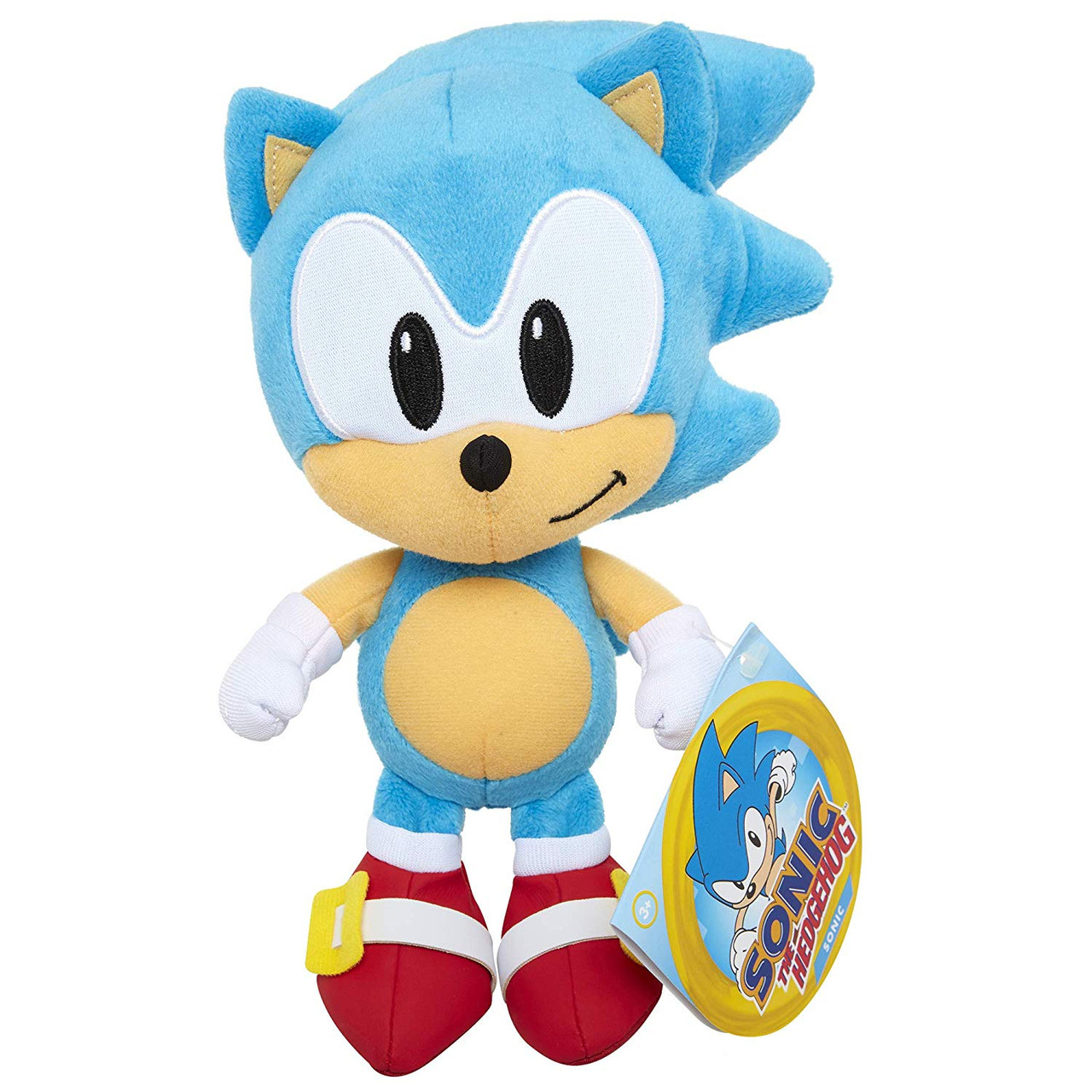 Plush Toy - Sonic the Hedgehog - Sonic - 7 Inch - Wave 1
