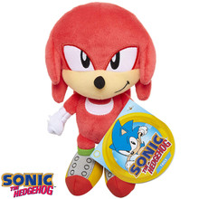 Plush Toy - Sonic the Hedgehog - Knuckles - 7 Inch - Wave 1