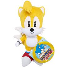 Plush Toy - Sonic the Hedgehog - Tails - 7 Inch - Wave 1