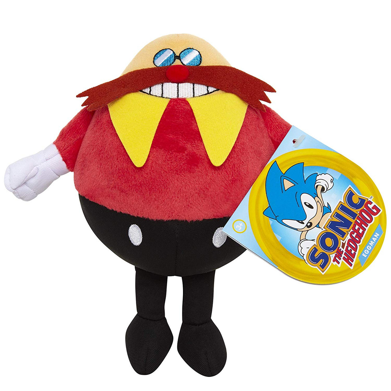 Plush Toy Sonic The Hedgehog Dr Eggman 7 Inch Partytoyz