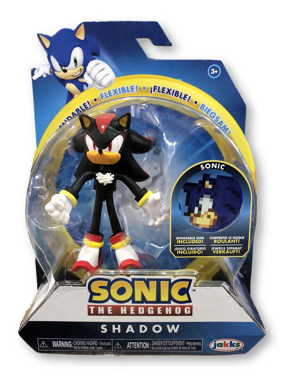 Action Figure - Sonic the Hedgehog - Shadow - 4 Inch - Wave 1