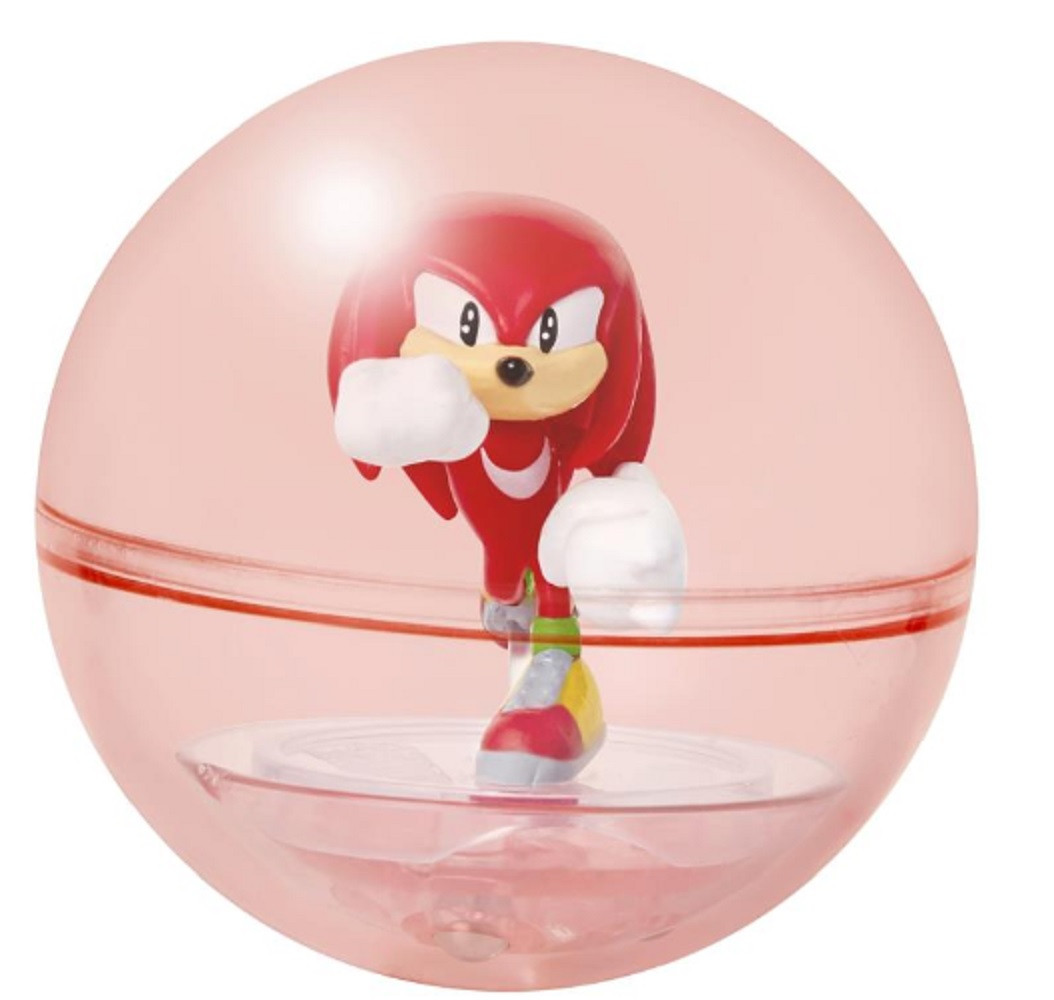 Action Figure - Sonic the Hedgehog - Sonic Sphere - Knuckles - 2 Inch - Wave 1