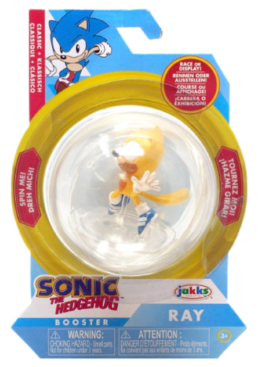 Action Figure - Sonic the Hedgehog - Sonic Sphere - Ray - 2 Inch
