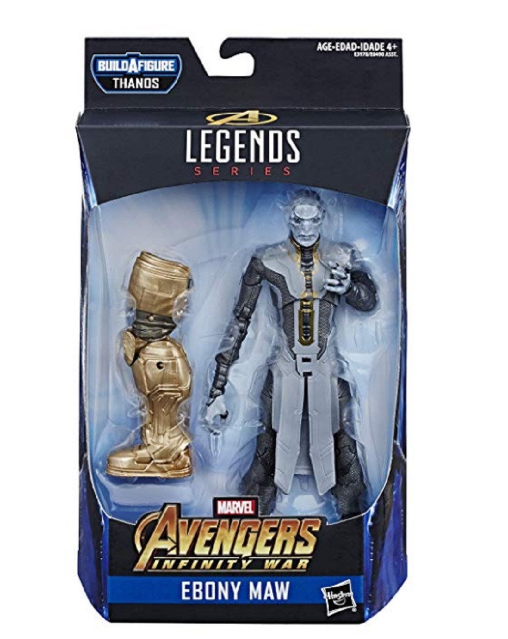 Action Figures - Marvel Legends - Avengers Infinity War - Ebony Maw - 7 Inch