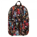 Backpack - X-Men - Large 16 Inch - All Over Print - Back