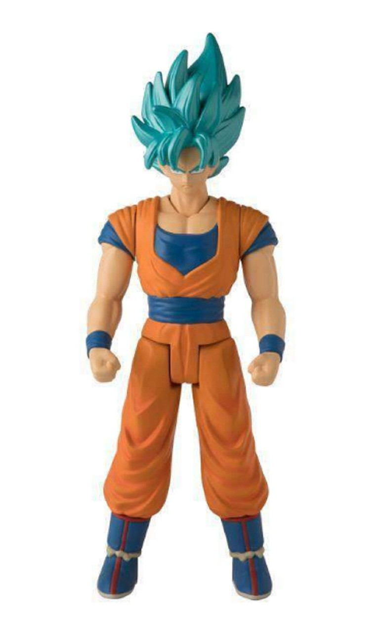 Action Figure - Dragon Ball Super - Limit Breaker - Super Saiyan Blue Goku - Wave 1 - 12 Inch