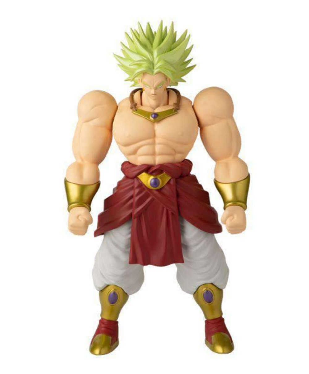 Action Figure - Dragon Ball Super - Limit Breaker - Classic Broly - Wave 1 - 13 Inch