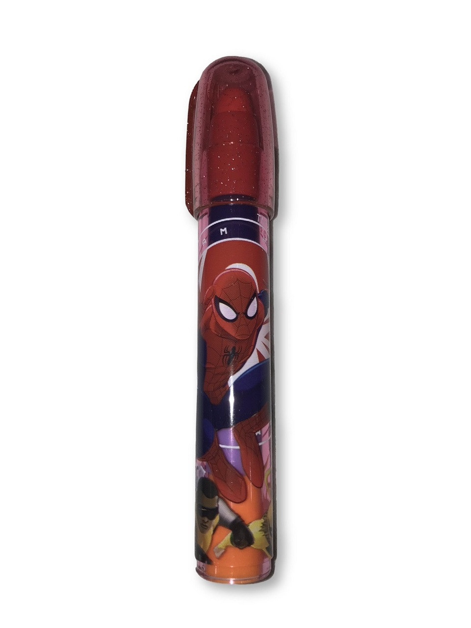 Party Favors - Spider Man - 1ct - Erasers - Stackable - Red