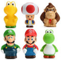 Super Mario Brothers - 6 Pack - Fat and Cute